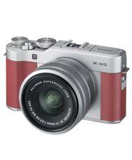 Fujifilm X-A5 Mirrorless Camera with XC 15-45mm OIS PZ Lens, Brown #16568913