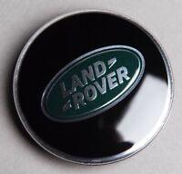 NEW Genuine Land Rover Black Centre Caps Defender Discovery Range Rover Sport x4