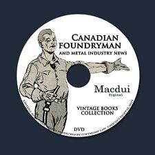 Canadian Foundryman – Vintage Magazines Collection 8 Vol. PDF E-books on 1 DVD