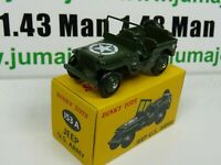 FA0L voiture 1/43 réédition DINKY TOYS DeAgostini : JEEP US ARMY
