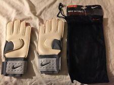 RARE - NIKE GK Spyne Pro Finger-Saver Goalkeeper Soccer Gloves GS0277-100 SIZE 8