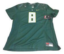 NWT NEW Oregon Ducks Nike #8 Women's Game Replica Green Football Jersey Medium