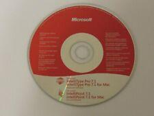 New listing Microsoft Intellitype Keyboard IntelliPoint Mouse 7.1 X16-20256-01 Mac Drivers