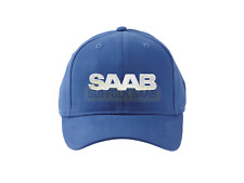SAAB GENUINE FITTED BASEBALL CAP HAT BLUE SM/MD BRAND NEW RARE GIFT PRESENT
