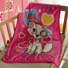 Disney Marie Cat Kid's Blanket Soft Plush Blanket Flannel Blanket Throw 70×100cm