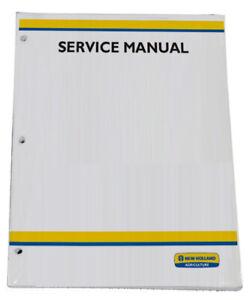 New Holland TC35A TC35DA TC40A TC40DA TC45A TC45DA Tractor Service Repair Manual