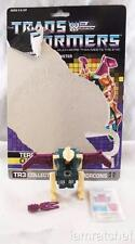 Transformers Original G1 Terrorcon Cutthroat Complete w/ Sealed Stickers & Card