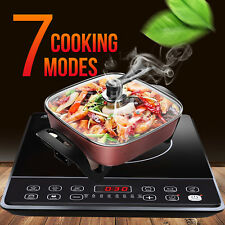 AUCMA Induction Cooktop Portable  Kitchen Cooker 2100W Ceramic Plate Cook Top