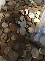 Nice Mixed Bulk Lot of 100 Assorted Worldwide Coins! Great Beginner Group!