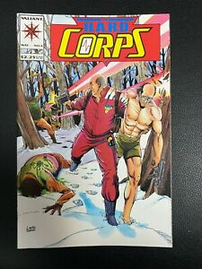 The H.A.R.D. Hard Corps #6 Mountains of Pain 1993 Comic Valiant Comics VF / NM