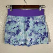 Ivivva Girls Set The Pace Purple Athletic Skirt Size 8