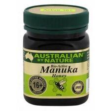 Bio Active 16+ 250g Manuka Honey Australian by Nature - New Zealand Manuka Honey