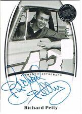 2007 Press Pass RICHARD PETTY Legends Autograph Blue #d xxx/570