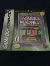 Marble Madness/Klax (Nintendo Game Boy Advance, 2005)