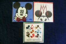Papyrus - Disney 3 Pack Greeting Cards - Birthday Cards - New