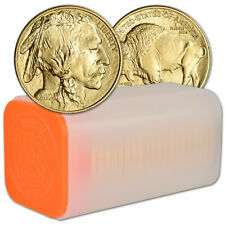 2021 American Gold Buffalo 1 oz $50 - BU - 1 Roll - 20 Coins in Mint Tube
