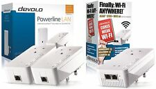 DEVOLO 9395Z POWERLINE DLAN 2 X 1200+ WITH 1 X  1200+WIFI TRIPLE ADAPTER N/W KIT
