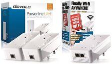 Devolo 9395z Powerline dlan 2 X 1200 + con 1 X 1200 + Wifi Triple Adaptador n/w Kit