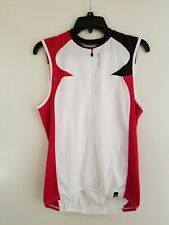 Sugoi cycling sleeveless TT Time Trial Triathlon sleeveless jersey size M
