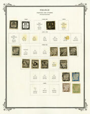 France 1800s to 1900s Useful Postage Due & Military Stamp Collection