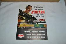 Althearn Ho Scale Toy / Model Trains Catalog Circa 1960 - Look !