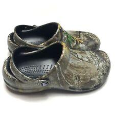 Crocs Bistro Realtree Edge Camo Clogs 205417-284 Size Mens 8 Womens 10