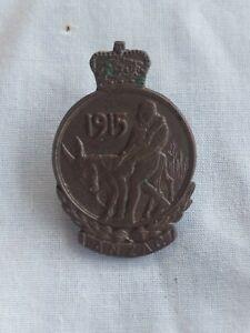 Australian WW1 original Gallipoli Lapel badge. 14Bn WIA 7/8/15 Dardanelles, AIF.