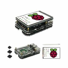 for Raspberry Pi 3 b+ Display Case, 3.5 inch TFT LCD Touch Screen Monitor wit...