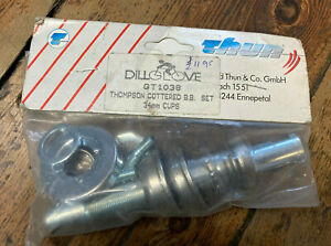 Thun Thompson Cottered Type Bottom Bracket Cups - 34mm Knock-In Cups *NOS