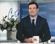 CARSON DALY Signed THE TODAY SHOW Photo w/ Hologram COA