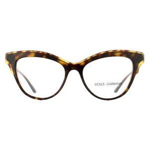 Dolce & Gabbana Eyeglasses DG3313 502 Havana Women