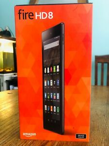 BRAND NEW SEALED Amazon Fire HD 8 (5th Generation) 8GB, Wi-Fi, 8in - Black