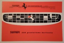FERRARI 250 GRANTURISMO BERLINETTA GT original 1961 Sales Brochure in ENGLISH