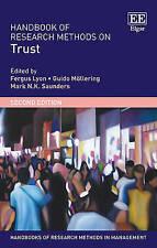 Handbook of Research Methods on Trust: Second Edition (Handbooks of Research Met