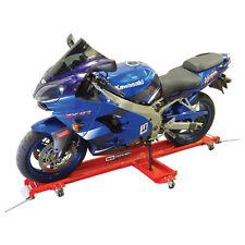 Carrello Accostamoto Accosta Moto Sollevatore Pedana Sposta Moto Cavalletto MCD1
