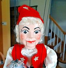 Vintage HAZELLE'S AIR PLANE CONTROL MARIONETTE Fortune Teller Crystal Ball  #318