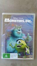 Monsters, Inc (Brand New DVD) Billy Crystal John Goodman Free Post (RF2)