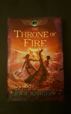 The Throne of Fire by Rick Riordan (2011, Hardcover) First Edition, First Print
