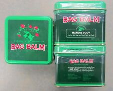 Bag Balm Ointment 8oz Tin ( 3 Tins )  FRESH PHARMACY STOCK!