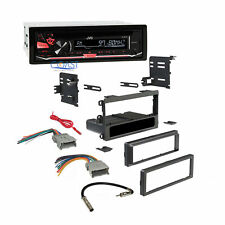 Jvc Radio Stereo Double Din Dash Kit Wire Harness for 1992-up Chevy Gmc Pontiac