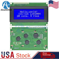 2004 204 20x4 Character LCD Display Module HD44780 Controller Blue Blacklight US
