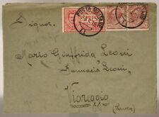 POSTA MILITARE 11 AFFRANCATA 23.4.1918 FRANCOBOLLO ESPRESSO DA 25 c.  #XP336H