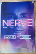 AUTHENTIC NERVE  Original Double sided  27x40  movie theater poster