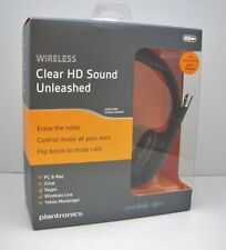 Plantronics .Audio 995 Digital Wireless 2.4GHz Stereo PC Headset + USB Adapter