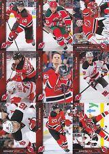 2015-16 Upper Deck New Jersey Devils Complete Series 1 & 2 Team Set 12 Cards