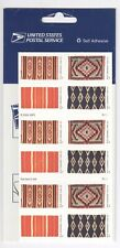 USPS Sheet 20 Stamps 37 Cent Rio Grande Woven Rugs Wool Blanket Southwest 2005