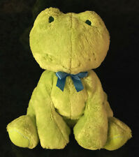 CARTERS PLUSH FROG DOLL Toy Crib Infant Baby Children Toy Clothing Company Cute