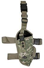 ACU Camo Gun Elite Right Handed Leg Holster BB Airsoft Pistol Handgun 21269ACU
