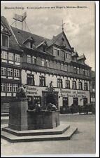 Braunschweig Niedersachsen AK ~1910 Eulenspiegelbrunnen mit Bier Brauerei Mumme