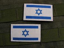 Snake patch-x2 mini israel flag 3cm x 5.5cm
